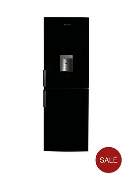 hoover-hvbn6182bwdknbsp60cm-fridge-freezer-black