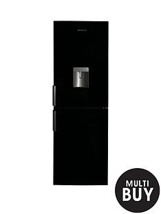 hoover-hvbn6182bwdknbsp60cmnbspfrost-free-fridge-freezer-with-water-dispenser-black