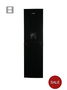 hoover-hff195bwknbsp55cmnbspfrost-free-fridge-freezer-with-water-dispenser-black