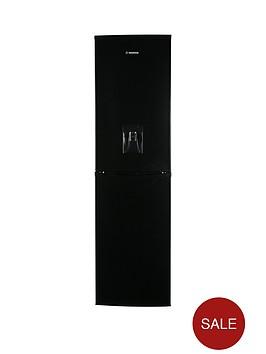 hoover-hff195bwknbsp55cmnbspfrost-free-fridge-freezer-with-water-dispenser-black