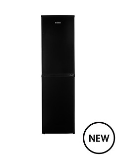 hoover-hff195bk-fridge-freezer-black
