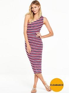 v-by-very-one-shoulder-print-stripe-dressnbsp