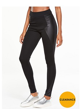 v-by-very-pu-panel-legging