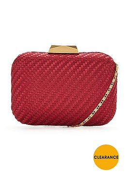 forever-unique-riley-hard-box-clutch-bag-berry