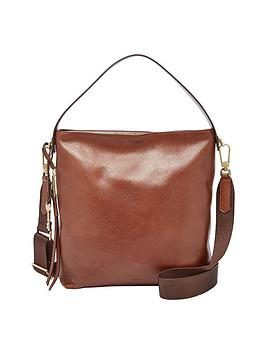 Fossil Leather Hobo Bag
