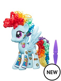 my-little-pony-my-little-pony-rainbow-dash-design-a-pony-playset