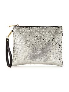 oasis-sequin-clutch-silver