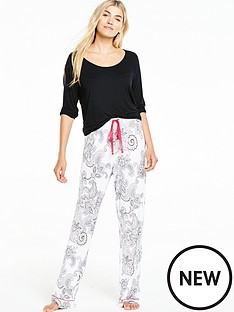 v-by-very-printed-pyjama-set