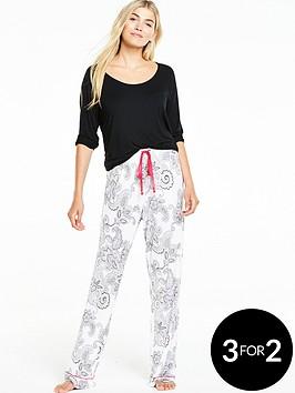v-by-very-printed-pyjama-set