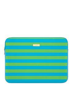 kate-spade-sleeve-for-13-inchnbspmacbooknbsp--bluegreen-stripes