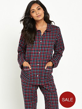 tommy-hilfiger-tommy-hilfiger-holiday-check-flannel-pyjama-set