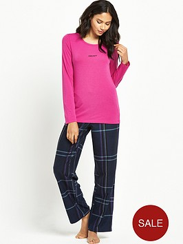 dkny-ls-top-and-fleece-pant-pj