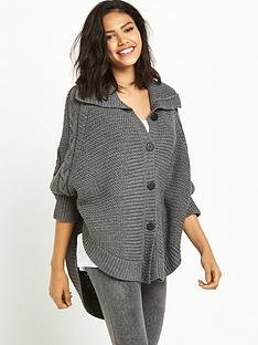 ugg-australia-marlbethnbspheavyweight-sweater-knit-lounge-poncho-charcoal-heather