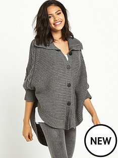ugg-australia-marlbethnbspheavyweight-sweater-knit-lounge-poncho-charcoal-heather