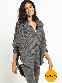 ugg-marlbethnbspheavyweight-sweater-knit-lounge-poncho-charcoal-heather