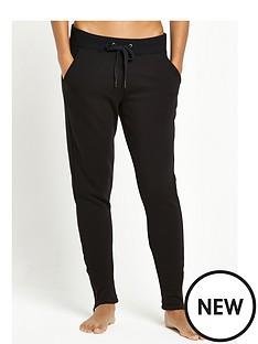 ugg-australia-molly-double-knit-fleece-pant-black
