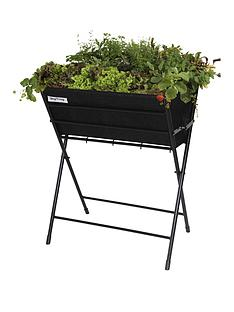 vegtrug-poppy-planter-with-black-felt-plus-10-packets-of-tampm-seeds-worth-pound25