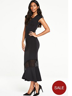 v-by-very-fish-tail-hem-dress