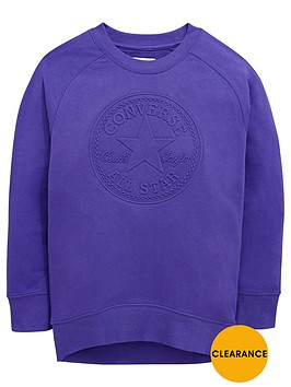converse-older-girls-embossed-sweat-top