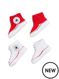 converse-converse-baby-boys-pk-2-booties-gift-set