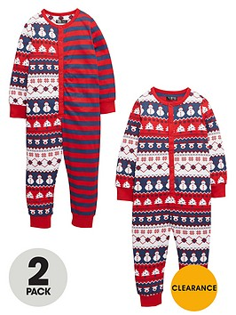 mini-v-by-very-boys-reindeer-fairislenbspsleepsuits-2-pack