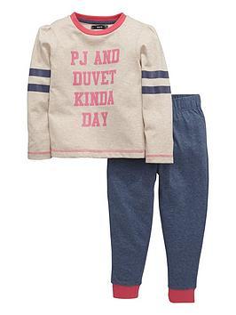 mini-v-by-very-girls-slogan-collegiate-pyjamas