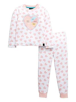 mini-v-by-very-girls-heart-print-pyjamas