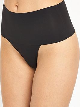Spanx Spanx Undie-Tectable Thong - Black Picture