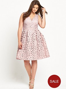 chi-chi-london-curve-chi-chi-curve-vneck-burnout-midi-dress