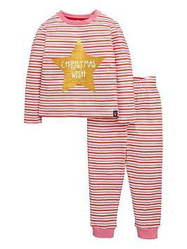 mini-v-by-very-girls-glitter-christmas-wish-pyjamas