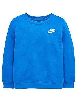 Nike Young Boys Crew Neck Sweat Top