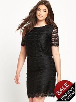 so-fabulous-double-layer-lace-dressnbsp--black