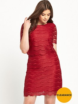 v-by-very-curve-double-layer-lace-dress-red