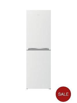 beko-cfg1552w-55cm-frost-free-fridge-freezer-next-day-delivery-white