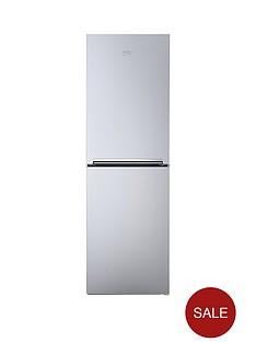 beko-cfg1552s-55cm-frost-free-fridge-freezer-silver