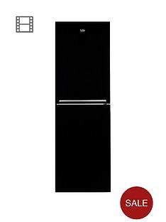 beko-cfg1552b-55cm-frost-free-fridge-freezer-next-day-delivery-black