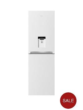 beko-cfg1582dw-55cm-frost-free-fridge-freezer-next-day-delivery-white