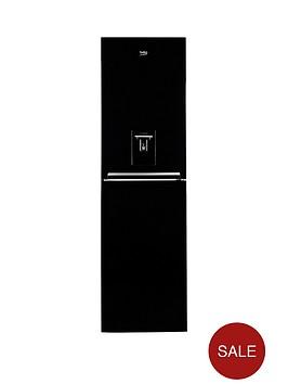 beko-cfg1582db-545cm-frost-free-fridge-freezer-next-day-delivery-black