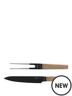 berghoff-ron-2-piece-ash-wood-carving-set