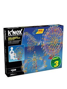 K'Nex  Knex 3-In-1 Classic Amusement Park Building Set