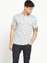 Pin Up Girls Printed Short Sleeve T-Shirt