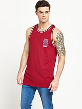 Mesh Sports Tipped Vest