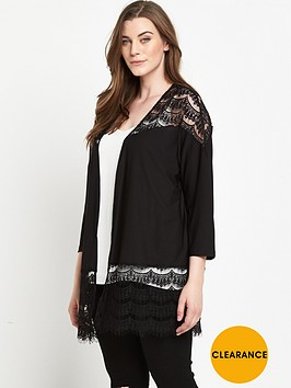 v-by-very-curve-lace-panel-cardigan