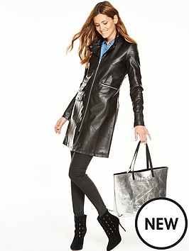 v-by-very-longlinenbspfaux-leather-jacket