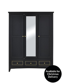 penthouse-3-door-3-drawer-mirrored-wardrobe