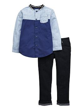 mini-v-by-very-boys-colour-block-shirt-and-jeans-setnbsp