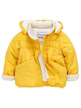 mini-v-by-very-girls-mustard-pointed-hood-coat