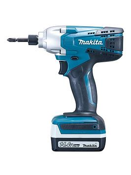 makita-g039-series-144v-cordless-impact-driver-variable-speed-14-hex-chuck-140nm-torque-2-x-batteries