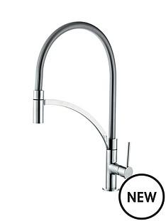 eisl-aramis-single-lever-kitchen-tap-with-flexible-hose