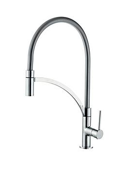 eisl-aramis-single-lever-kitchen-tap-with-flexible-hose